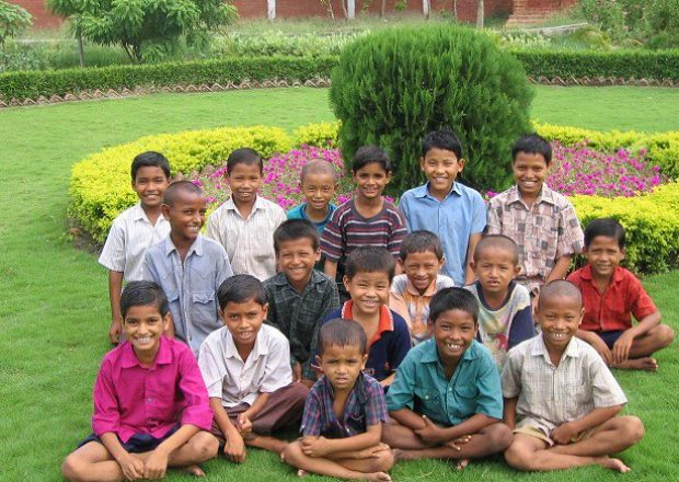 Children from Anand Niwas