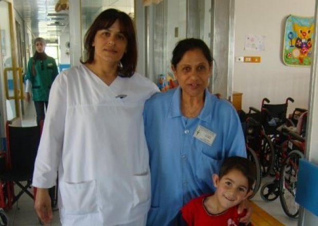 BASR Staff with Child