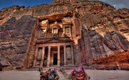 Iconic Petra building