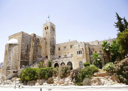 Exterior view of St Andrews, Jerusalem