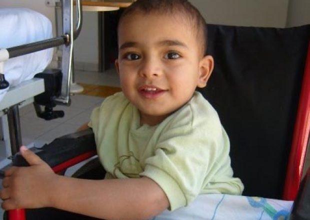 Child at BASR