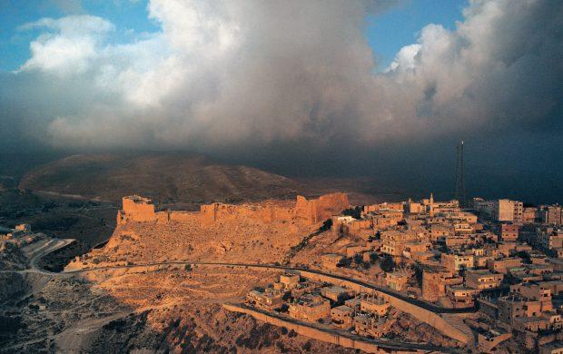 Kerak Crusader Castle Holy Land Jordan